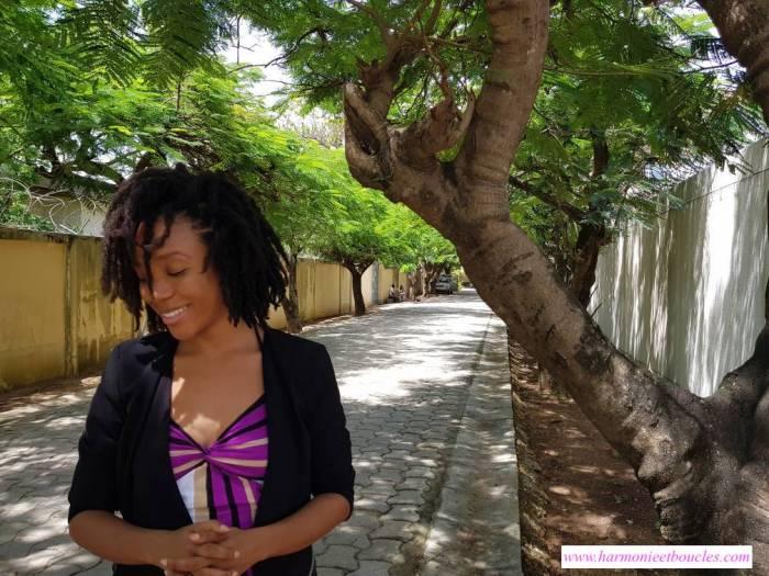 Black Cotton Harmonie et Boucles pousse cheveux crépus