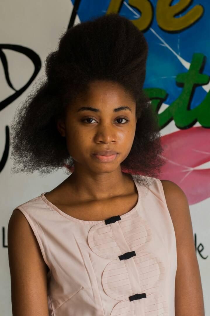 Candidate 2 Miss crépue Bénin