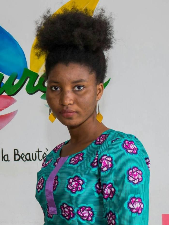 Candidate 3 Miss crépue Bénin