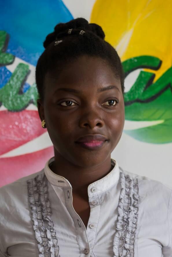 Candidate 6 Miss crépue Bénin