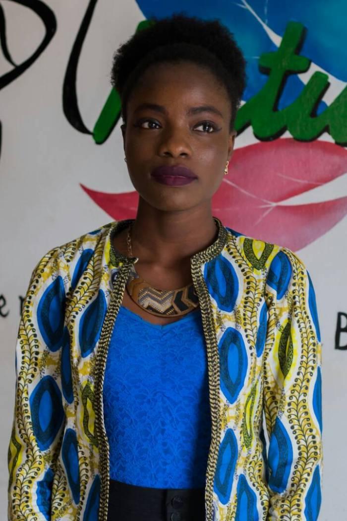 Miss crépue Bénin Candidate 1